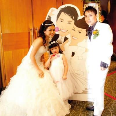 wedding_standee